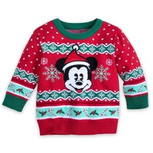 Disney Mickey Mouse Christmas Sweater 9/10
